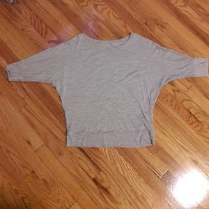 Eileen Fisher grey shirt